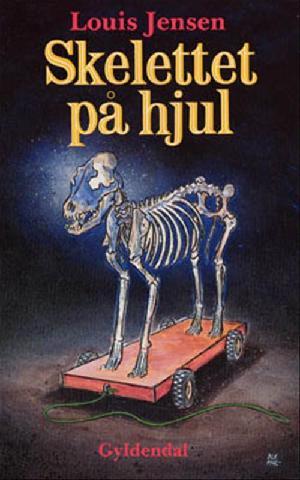 Forside til bogen Skelettet på hjul