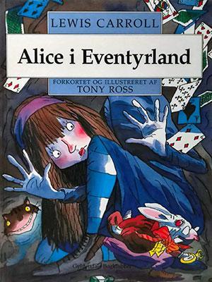 Forside til bogen Alice i Eventyrland