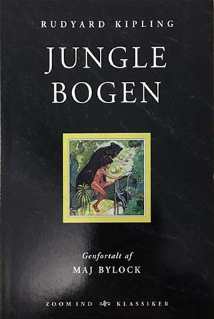 Forside til bogen Junglebogen
