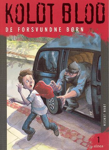 Forside til bogen De forsvundne børn