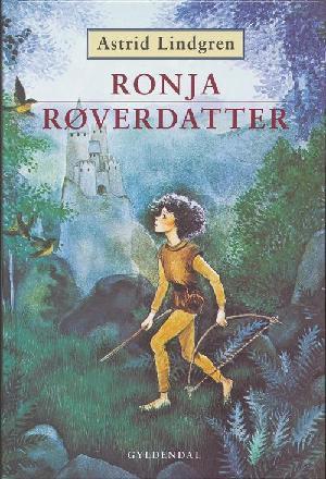 Forside til bogen Ronja røverdatter