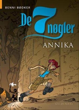 Forside til bogen Annika