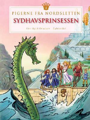 Forside til bogen Sydhavsprinsessen