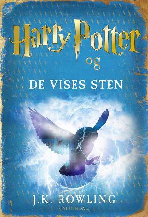 Forside til bogen Harry Potter og De Vises Sten