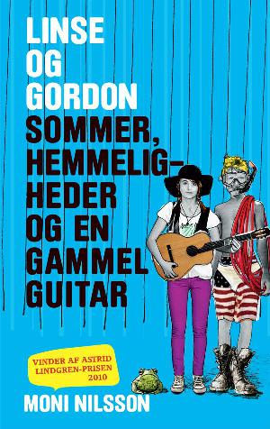Forside til bogen Sommer, hemmeligheder og en gammel guitar