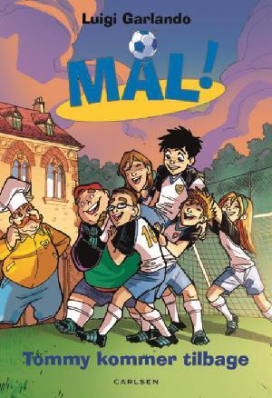 Forside til bogen Tommi kommer tilbage