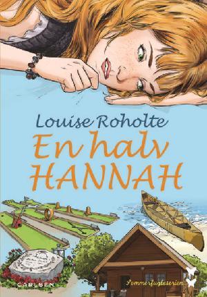 Forside til bogen En halv Hannah