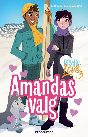 Forside til bogen Amandas valg