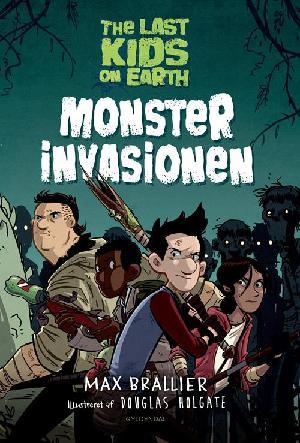 Forside til bogen Monsterinvasionen