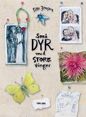 Forside til bogen Små dyr med store vinger