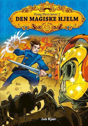 Forside til bogen Den magiske hjelm