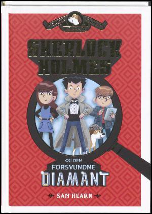 Forside til bogen Sherlock Holmes og den forsvundne diamant
