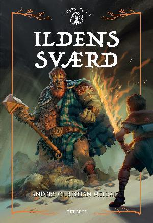 Forside til bogen Ildens Sværd