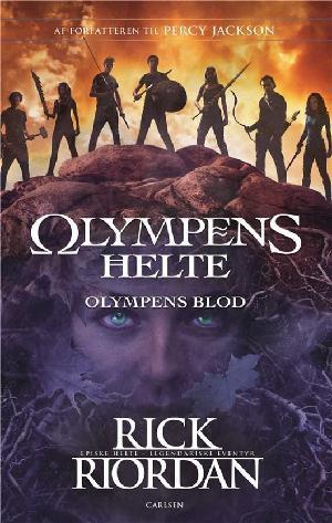 Forside til bogen Olympens blod