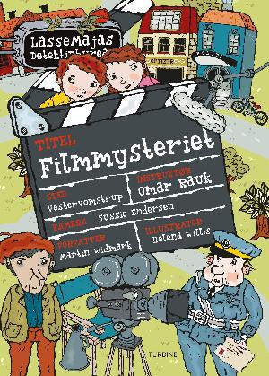 Forside til bogen Filmmysteriet