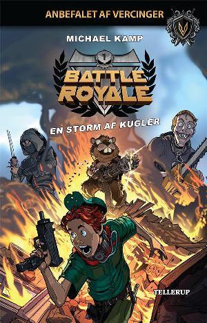 Forside til bogen Battle royale - en storm af kugler