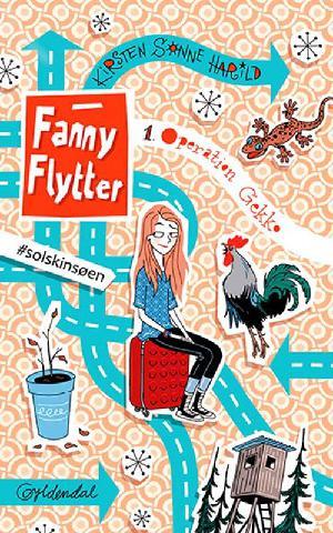 Forside til bogen Fanny flytter - operation gekko