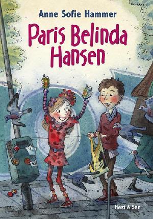 Forside til bogen Paris Belinda Hansen