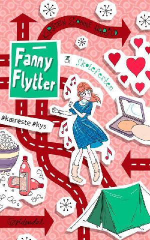 Forside til bogen Fanny flytter - skolefesten