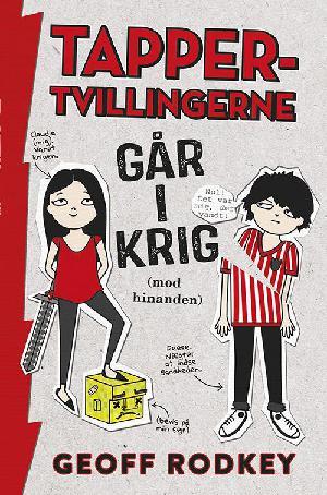 Forside til bogen Tapper-tvillingerne går i krig (mod hinanden)