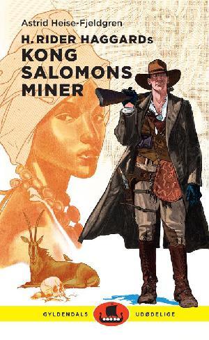 Forside til bogen H. Rider Haggards Kong Salomons miner