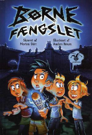 Forside til bogen Børnefængslet