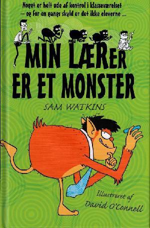 Forside til bogen Min lærer er et monster
