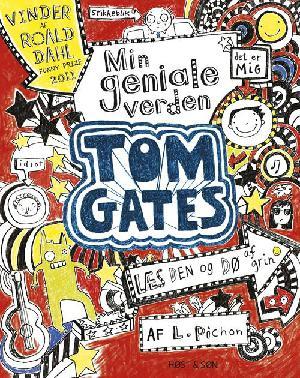 Forside til bogen Tom Gates - min geniale verden