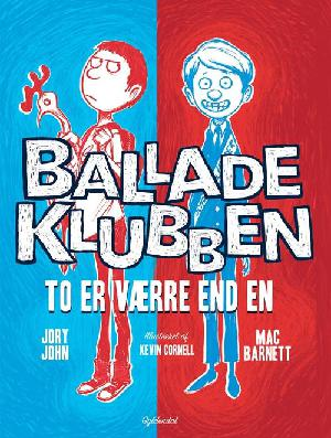 Forside til bogen Balladeklubben - to er værre end en