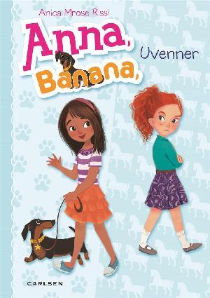 Forside til bogen Anna, Banana - uvenner