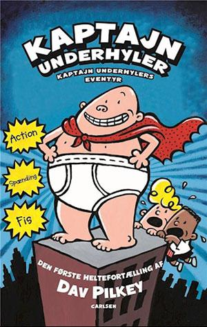 Forside til bogen Kaptajn Underhylers eventyr