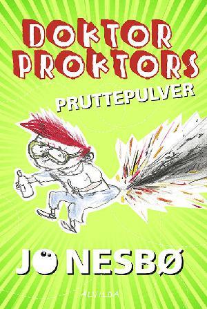 Forside til bogen Doktor Proktors pruttepulver