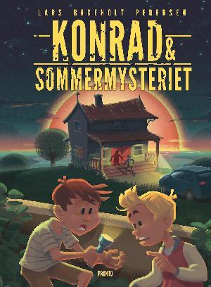 Forside til bogen Konrad & sommermysteriet