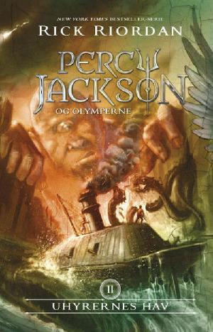 Forside til bogen Percy Jackson og uhyrernes hav