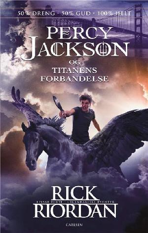 Forside til bogen Percy Jackson og titanens forbandelse