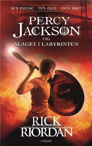 Forside til bogen Percy Jackson og slaget i labyrinten