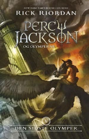 Forside til bogen Percy Jackson og den sidste olymper