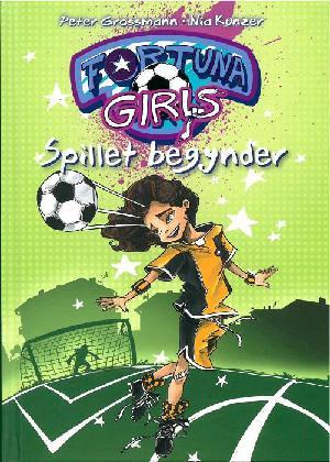 Forside til bogen Fortuna Girls - spillet begynder