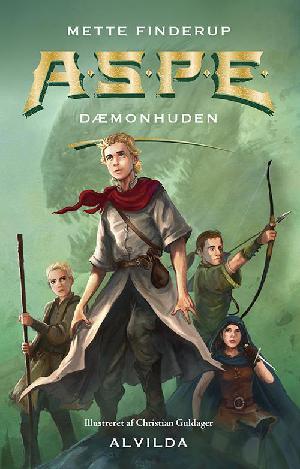 Forside til bogen A.S.P.E - dæmonhuden
