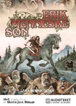 Forside til bogen Erik Menneskesøn