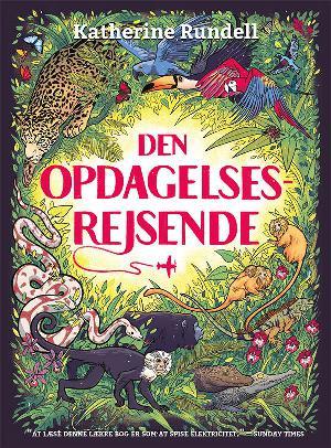 Forside til bogen Den opdagelsesrejsende